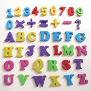 Alphabet Number Sign Fridge Whiteboard Magnet Baby Kid Educational Toy