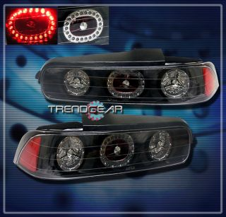 94 01 Acura Integra LED altezza Tail Light Rear Lamp JDM Black 95 96