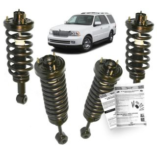 Lincoln Navigator Conversion Kit Air to Coil Spring Struts 03 06 All 4