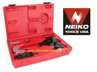 air conditioning clutch hand tool set auto mechanic a c tool kit case