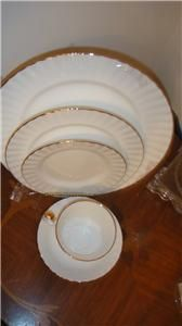 Royal Albert Val Dor 5pc Place Setting Dinnerware Set New