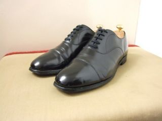 Alfred Sargent Mens Black Oxford Shoes 8F