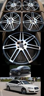 22 Wheels Set for Audi Q7 VW Touareg Porsche Cayenne Set of 4 Rims