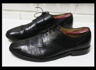 Allen Edmonds Kingswood Wingtip Black Calf Dress Shoes Oxford Size 13