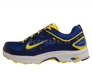 Nike Air Alvord 9 WS Bright Blue Yellow 2012 Mens Trail Running Shoes