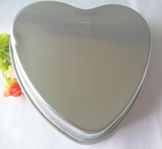 1pcs Aluminum Heart Shape Cake Pan Baking Mold Cake Mold