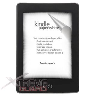 Screen Protector Skin For  Kindle Paperwhite 3G Reader Tablet