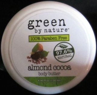 Almond Cocoa Body Butter Paraben Free Green by Nature Skin Care Lotion