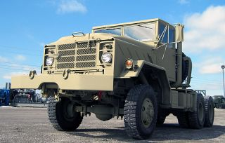 M932 5 TON 6x6 MILITARY TRACTOR TRUCK Diesel AM General W Winch