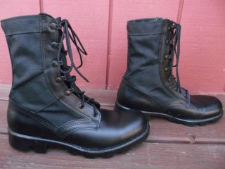ALTAMA BLACK JUNGLE BOOTS MENS SIZE 8 GREAT PREOWNED CONDITION