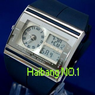 New OHSEN Mens ANALOG Digital Date LED Chronograph ALARM CLOCK STOP