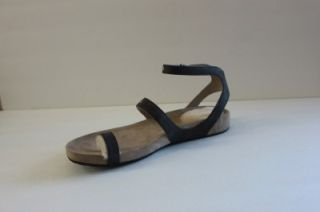 UGG Womens Andalusia Brown Leather Thong Flip Flop Shoe Sandal Size 9