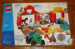 LEGO EXPLORE Box Set ANIMAL FARM Legos # 3618 Explore Duplo Building