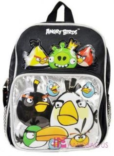 rovio angry birds and king pig 10 mini toddler backpack boys girls