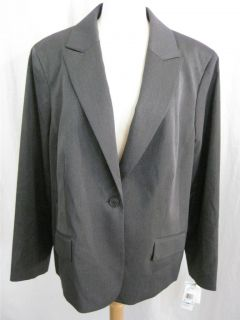 Anne Klein Womens Stretch Career Suit Blazer Jacket Various