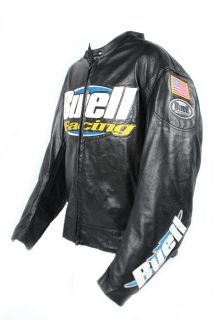 Vanson Leather Buell Racing Jacket Triple Extra Large XXXL New