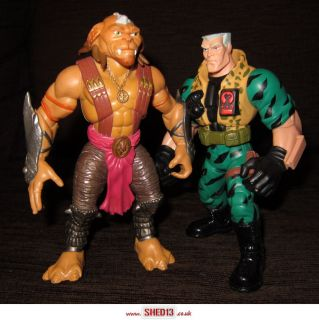 Archer Chip Hazard Small Soldiers Figures Free UK Post