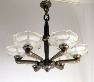 petitot ezan french art deco chandelier lustre