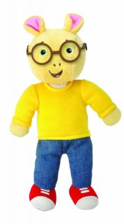 Arthur Doll from PBS Kids Beanie Stuffed Toy by Kids Preferred
