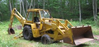 Clark Michigan 700 Heavy Duty Tractor Backhoe Loader