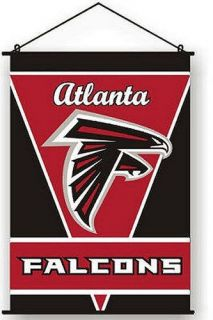 Atlanta Falcons Wall Hanging Indoor Scroll Banner 28 x 40 zz