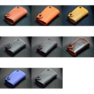 Black M Leather Key Fob for Audi A1 A3 A4 A5 A6 A7 A8 Q5 Q7 TT S4 S5