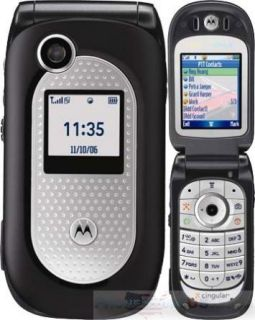 MOTOROLA V365 AT&T ATT FLIP PTT CAMERA BLUETOOTH JAVA CELL PHONE MINT