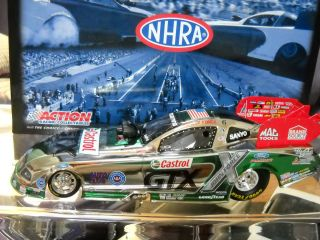 Ashley Force Castrol GTX 2009 Mustang Funny Car Color Chrome 1 260