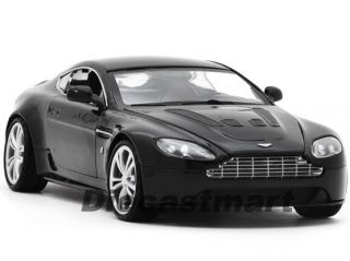 MOTORMAX 1 24 ASTON MARTIN V12 VANTAGE NEW DIECAST MODEL CAR BLACK