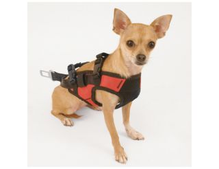 Snozzer Pet Products Deluxe Dog Travel Car Safety Harness Seat Belt