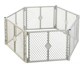 North States Industries Play Yard Pen Baby Safety Gate Brand New
