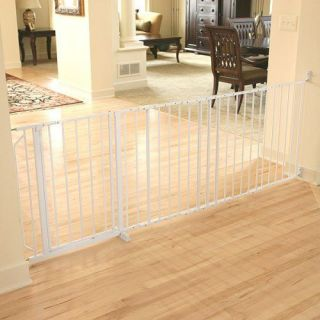 Regalo Maxi x Wide Walk thru Baby Pet Child Safety Gate