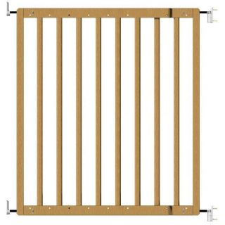 Oggi Hardware Mounted Wooden Baby Gate Dog Pet Infant Health Safety SG