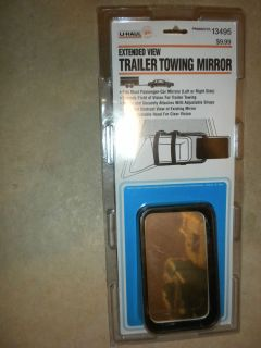 extended view trailer towing mirror fits most passenger car mirrors