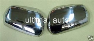 Chrome Mirror Covers Set Steel for Nissan Murano 2005