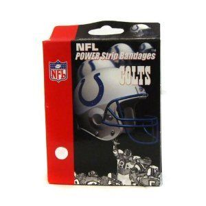 NFL Indianapolis Colts Football Bandaid Bandages