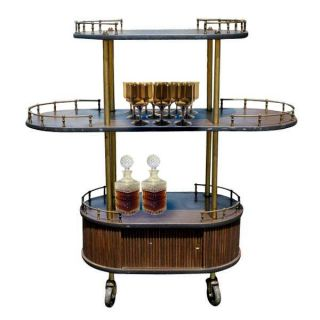 regency three tier cocktail bar cart cabinet three level c ocktail bar