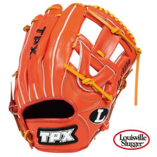 Louisville Slugger TPX 12 Baseball Glove Orange H Web RHT Free
