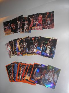 Loose Lot of NBA Basketball Trading Cards   Upper Deck   Fleer   Topps