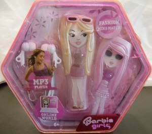 New Barbie Girls  Player 512MB Fashion Mix Pink