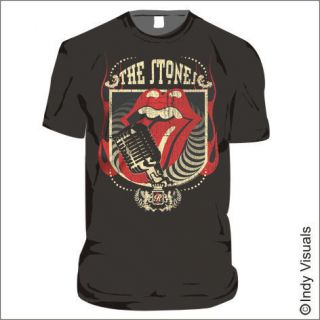 rolling stones t shirt 40 licks distressed print more options