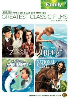 TCM Greatest Classic Films Collection Family DVD, 2009, 2 Disc Set
