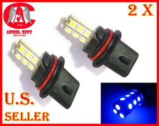18 LED 5050 SMD 9007 HB5 Car Automotive Fog Light Lamp Bulb Blue
