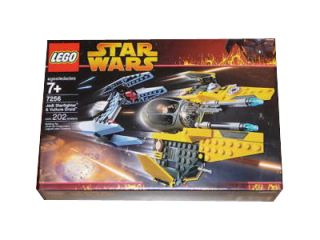 Lego Star Wars Episode III Jedi Starfighter and Vulture Droid 7256