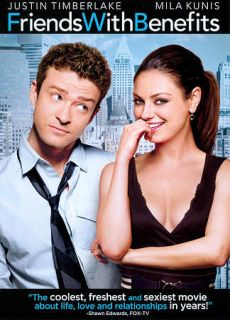 Friends with Benefits DVD, 2011