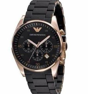 EMPORIO ARMANI AR5905 CHRONOGRAPH MENS WATCH (FULL RRP £350) GENUINE
