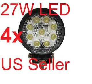 Newly listed 4x 27W LED Work Light Lamp Truck Tractor SUV 4x4 ATV JEEP