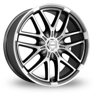 18 Borbet XA Alloy Wheels & Nankang AS 1 Tyres   CADILLAC XLR