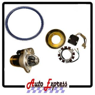STARTER KIT FITS YANMAR & CHINESE ENGINE 186 10HP L100 FITS WATER PUMP