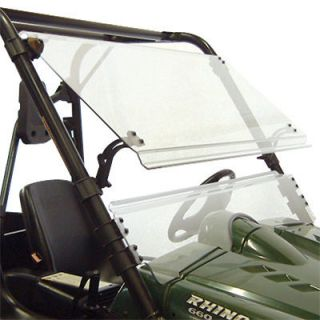 windshield full tilting shield yamaha rhino utv new time left